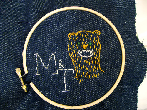 amazing bear (with fangs)