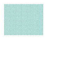 A2 size JPG KNITTING paper turquoise LARGE SCALE