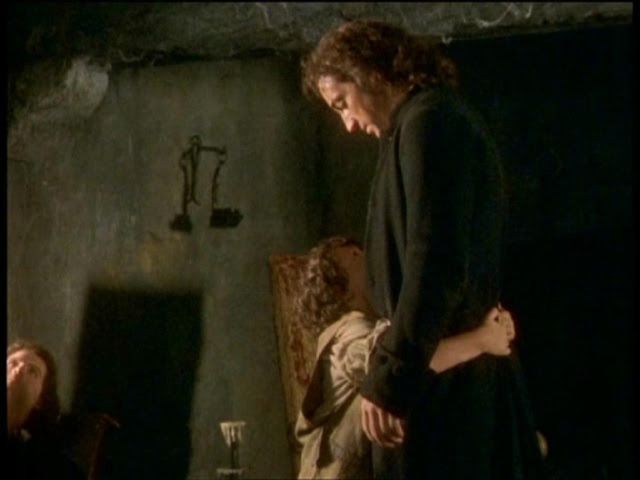 Hareton enfant et Heathcliff