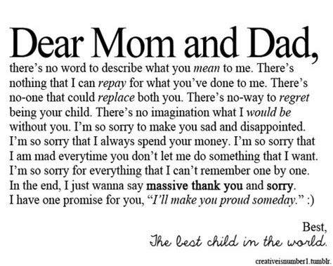 Mother And Father Quotes Tumblr