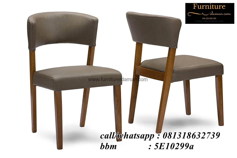 Kursi Cafe Scandinavian Oscar Kayu Jati Solid KCI 65 Furniture
