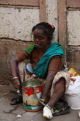 Maria The Leper Lady of Boran Road Bandra by firoze shakir photographerno1
