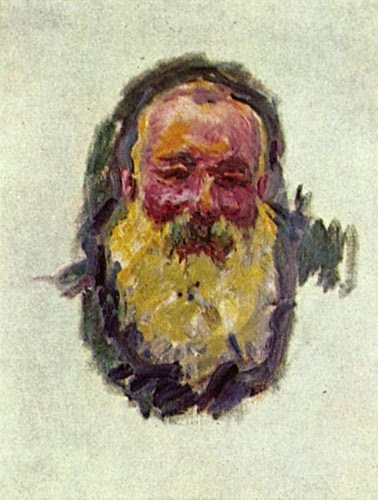 Monet Selfportrait 1917