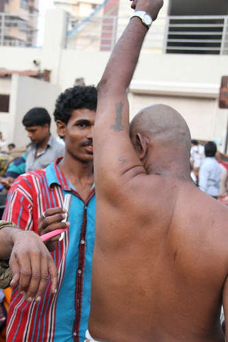 Shaving The Mystical Indian Armpit by firoze shakir photographerno1