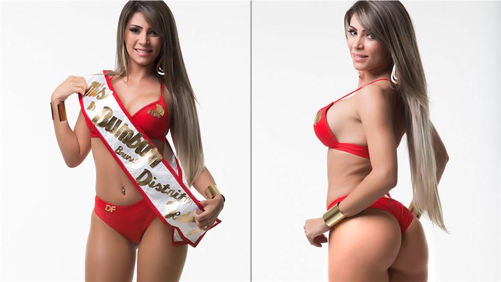 Miss Bumbum 2014 Distrito Federal - Mundo Nerd Info
