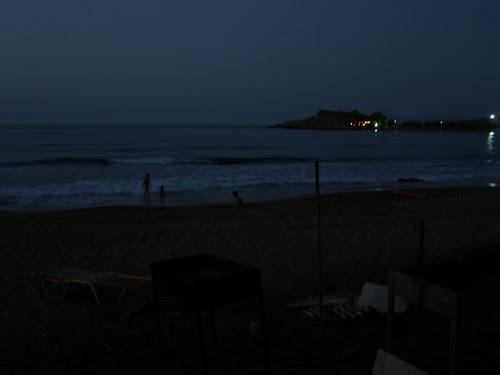 midnight swim kalamaki hania chania