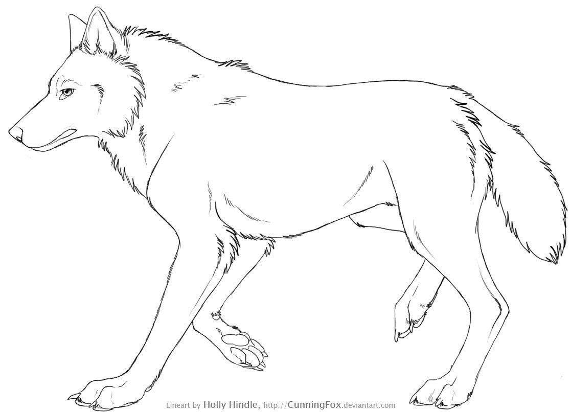 Sélection De Coloriage Loup à Imprimer Sur Laguerchecom Page 1