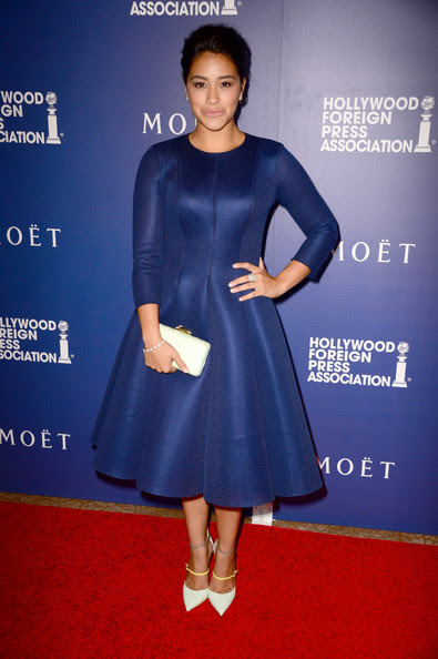 Gina Rodriguez - Hollywood Foreign Press Association's Grants Banquet — Part 3