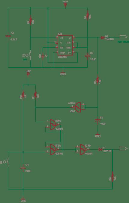 555 based Reset Generator