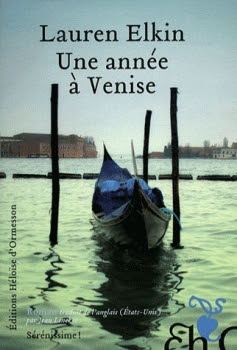 Couverture Une année à Venise