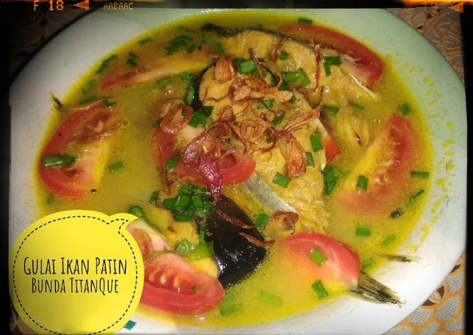 Resep Gulai Ikan Patin Yang Enak