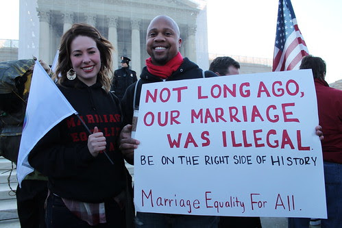 MarriageEqualityRally1.SupremeCourt.WDC.26March2013 by Elvert Barnes