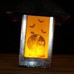Side 1 - Lantern at night