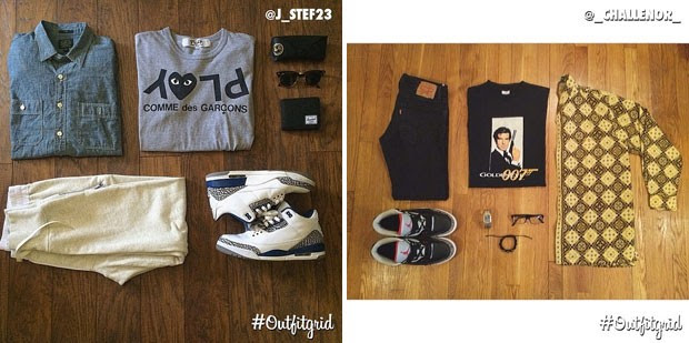 Outfitgrid (Foto: Instagram)