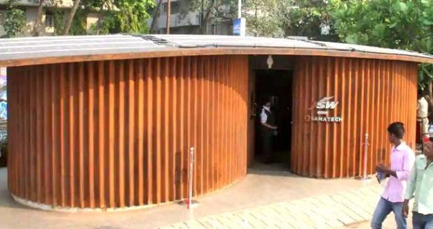 Mumbai Get Its First Costliest Public Toilet At Marine Drive Built With A Whopping Amount of Rs. 90 Lakhs