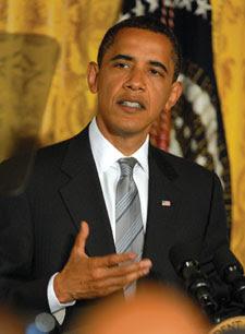 Obama speaks to GLBT invitees June 29