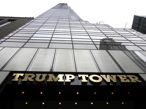 l'immeuble de Donald Trump