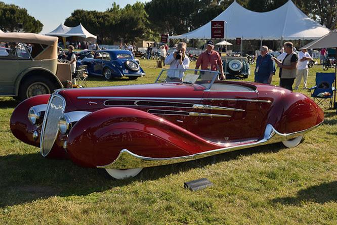 Delahaye Type 165 Cabriolet, Marin Sanoma C d'E