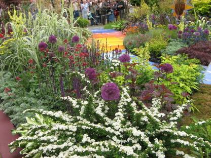 George Harrison Garden Chelsea Flower Show 2008