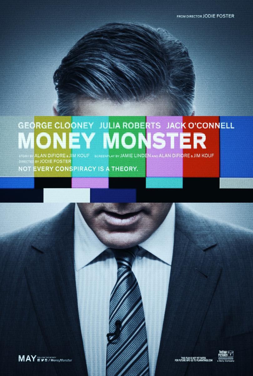 Money Monster, película, cine, cartelera, jodie foster, george glooney, juia roberts, humor, televisión, thirller, drama, secuesetro, blog de cine, solo yo, blog solo yo, blogger alicante,