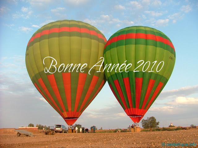 Bonne Année 2010 avec Ciel d'Afrique