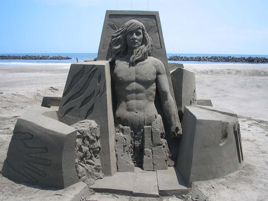 As extraordinárias esculturas de areia de Toshihiko Hosaka 24