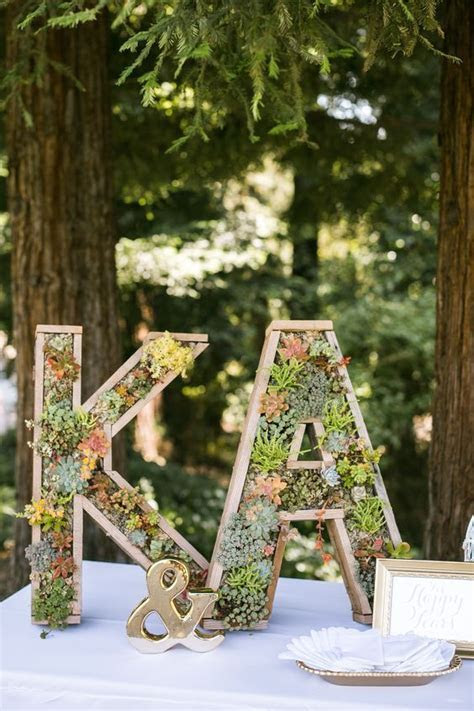 40 Wedding Initials & Letters Decor Ideas   Wedding