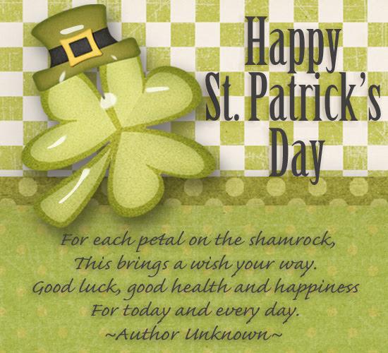 Happy St Patricks Day Blessing Free Happy St Patricks Day