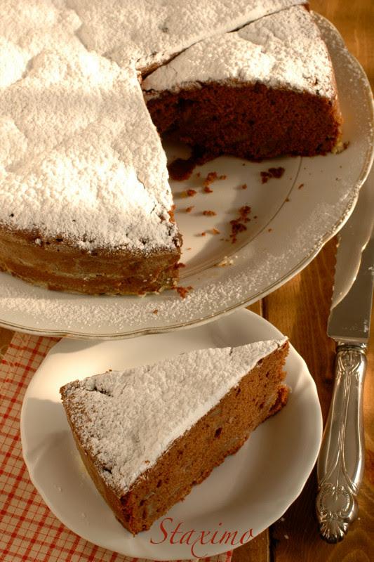 Torta Cioccolato e Pere Gluten Free