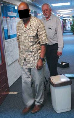 Patient TN and Lawrence Weiskrantz