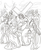 Cuarta Estación: Jesús se Encuentra con su Madre from Viernes Santo