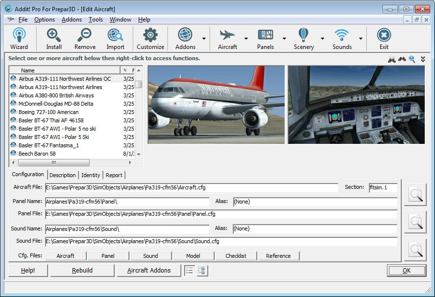 Prepar3D Utility – V8 4 1 Addit! Pro For Prepar3D - Ariel Creation