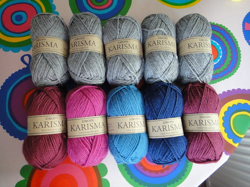 Colours for a cardigan