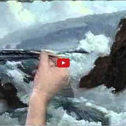 Dessin Et Peinture Vidéo 2647 Comment Peindre Le Mouvement De La