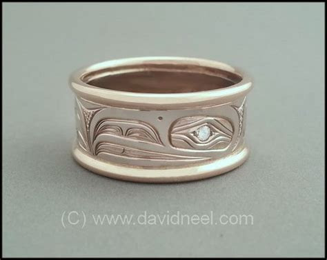 23 best Gold Rings   Northwest Coast Indian images on