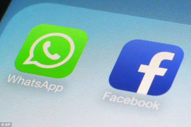 The problems came just days after Facebook announced it had bought WhatsApp for 19 billion dollars (£9.6million) in cash and stocks