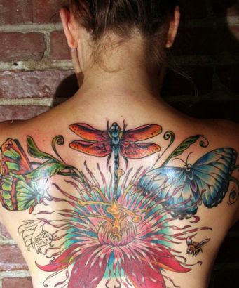Bee Back Tattoo