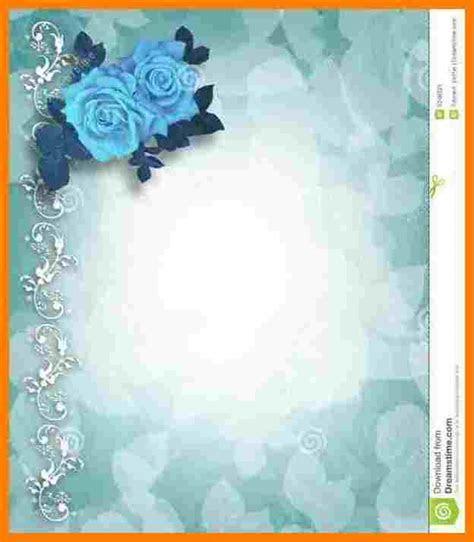 7  blank wedding invitation templates   Free Invoice Letter