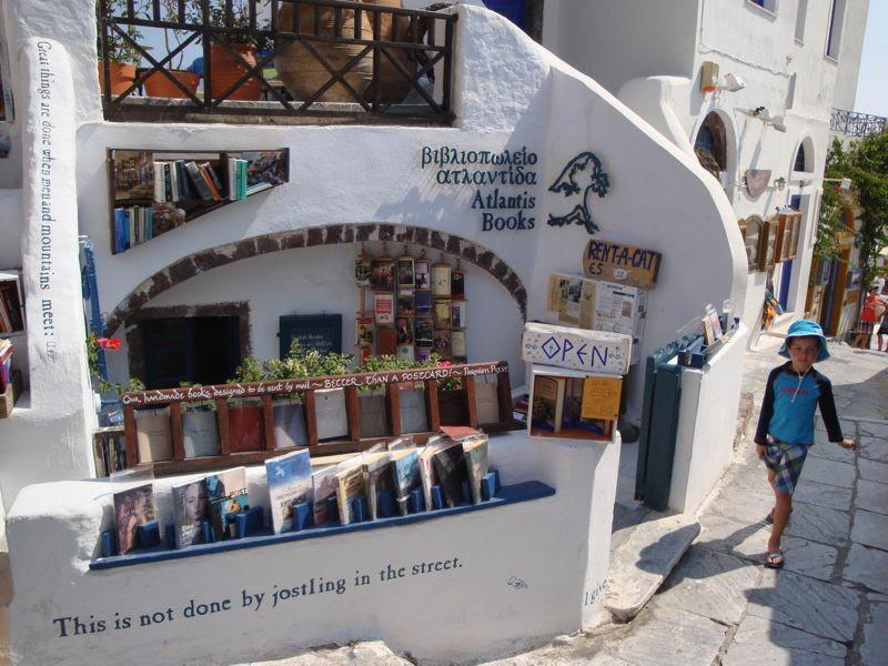 Atlantis Books - Santorini, Grécia (Foto: Reprodução)