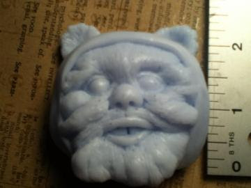 Blue Ewok Soap