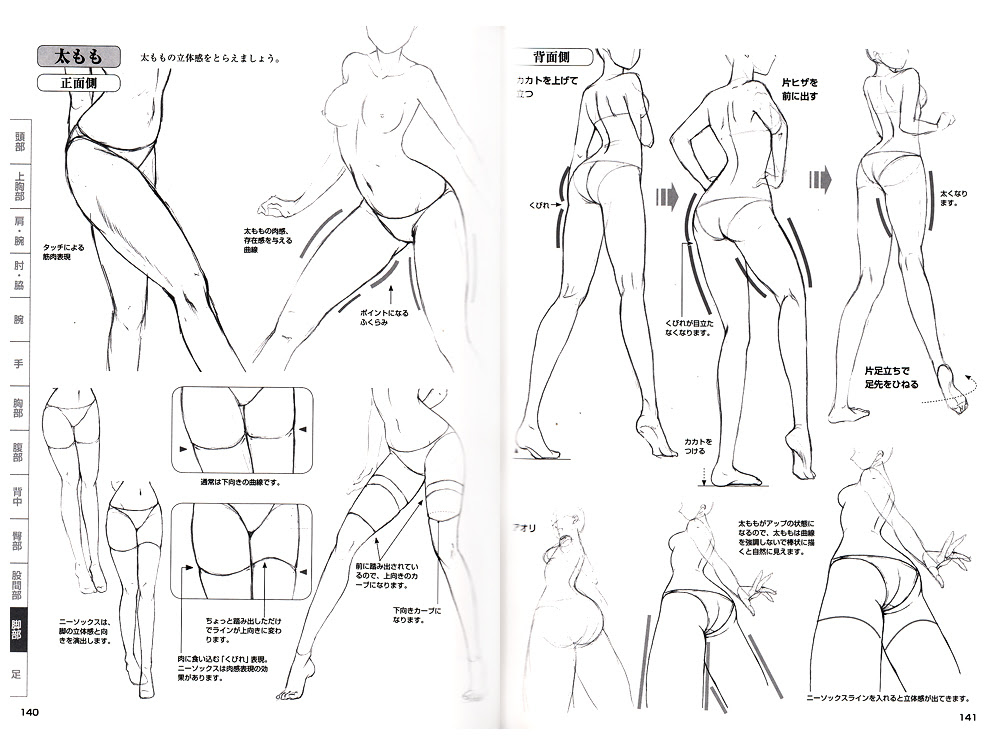 how to draw manga sexy character 8