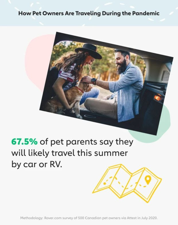 Canadian pet owners are not giving up on their summer travel plans