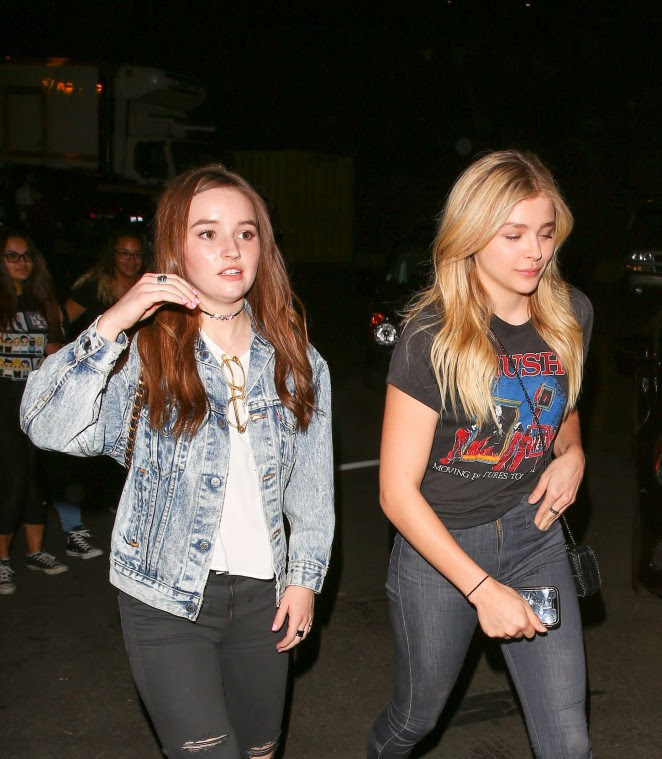 Chloe Moretz and Kaitlyn Dever: We Can Survive Concert -14