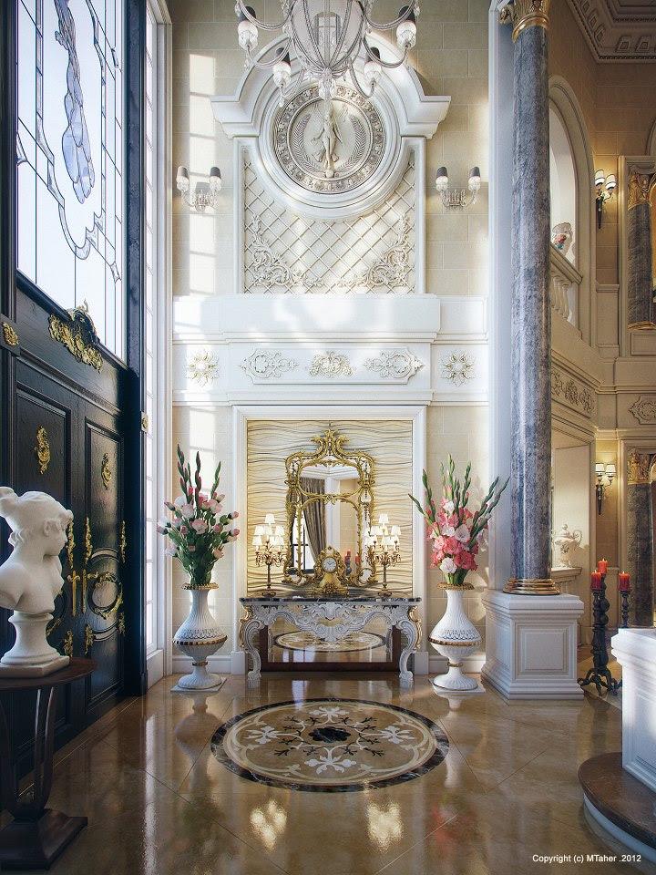 Luxury Villa in Qatar [Visualized] - PALACE INTERIOR DESIGN QATAR VILLAS INTERIOR DECORATION DOHA