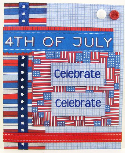 Fourth Celebrate Card