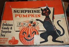 Surprise Pumpkin display box