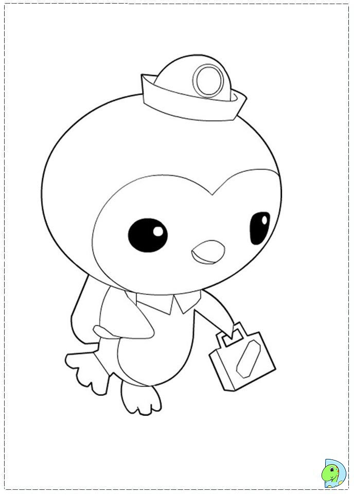 Octonauts Gup C Coloring Pages Coloring Pages