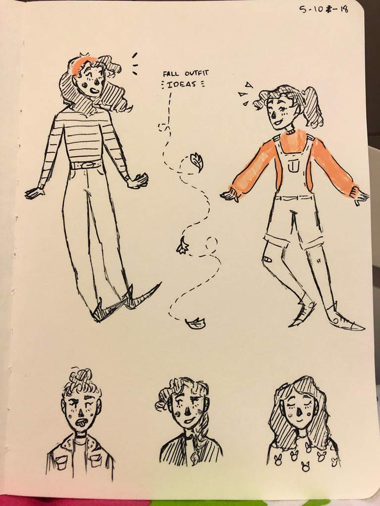 INKTOBER: DAY 16  fall outfit ideas 🍂  Art Amino