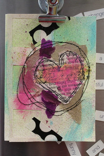 valentine's day card by alteredstatesstudio