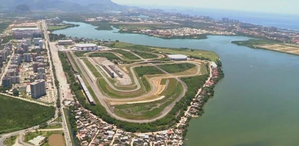 Novo circuito substituirá o autódromo de Jacarepaguá (foto), que foi desativado no Rio